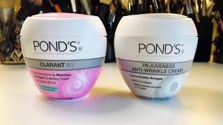 Review: POND'S Rejuveness Anti-Wrinkle Cream and POND'S Clarant B3 Dark Spot Correcting Cream
