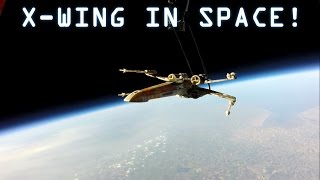 getlinkyoutube.com-X-Wing in Space - Launch to Crash Landing