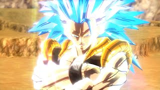 getlinkyoutube.com-DBXV: SSGSS3 Gogeta Gameplay Mod【HD】