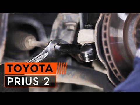Wie TOYOTA PRIUS 2 Spurstangenkopf wechseln (TUTORIAL AUTODOC)