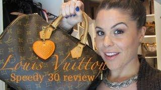 getlinkyoutube.com-Speedy 30 Louis Vuitton Reviews