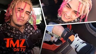 Lil Pump Doesn't Care About The Police   TMZ TV