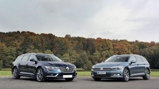getlinkyoutube.com-La Renault Talisman Estate face à la Volkswagen Passat SW
