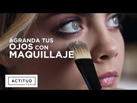Cómo agrandar los ojos. Tutorial de maquillaje MUY FÁCIL | ActitudFEM