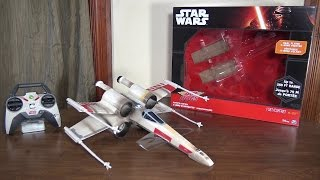 getlinkyoutube.com-Air Hogs - Star Wars X-Wing Starfighter - Review and Flight (with How To Fly tips)