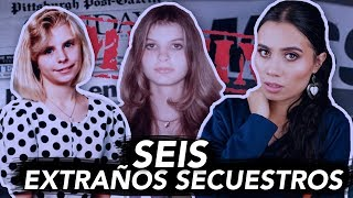 ¡6 EXTRAÑOS SECUESTROS! | Paulettee