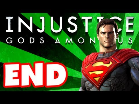 Injustice Gods Among Us - Gameplay Walkthrough Part 12 - Superman Ending (PS3, XBox 360, Wii U)