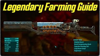 getlinkyoutube.com-Fallout 4 Legendary Items Farming Guide! How to Get the Best Gauss Rifles & Other Rare Weapons!