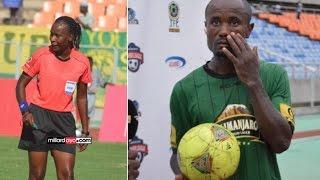 Tambwe kasema refa Jonasia alimtukana na kumuonesha kadi katika mechi vs Mwadui FC