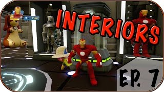 getlinkyoutube.com-IRON MAN STARK TECH ROOM! - Disney Infinity 3.0 Interiors - Ep. 7