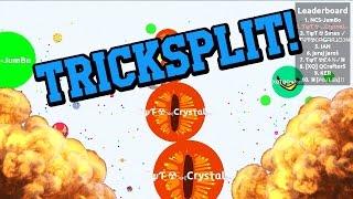 getlinkyoutube.com-Craziest Agar.io Tricksplits // Agario Tricksplit Compilation!