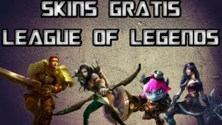 getlinkyoutube.com-League of Legends- Como ganhar as skins Ashe Britânia, Riot Tristana, Bandit Sivir, Commando Garen