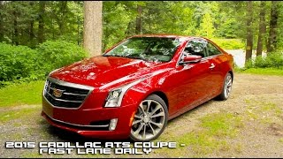 getlinkyoutube.com-2015 Cadillac ATS Coupe Review - Fast Lane Daily
