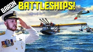 getlinkyoutube.com-WAR THUNDER BATTLESHIPS! - War Thunder Custom Battle