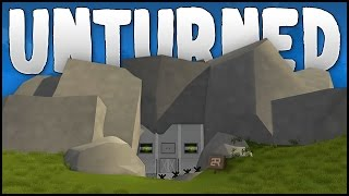 getlinkyoutube.com-CAVE BASE! (Unturned Building)