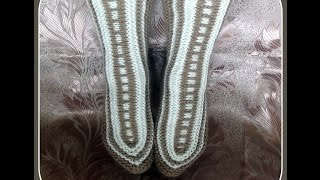 getlinkyoutube.com-Интересное вязание - носки-исландцы