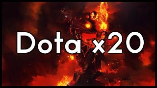 Dota 2 Mods   EPIC DOTA X20 FIGHT!!