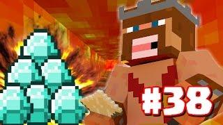 "getlinkyoutube.com-Minecraft | ""LAVA WELL & DIAMONDS!"" | Minecraft Clash Of Clans Survival #38 (Minecraft 1.8.3)"