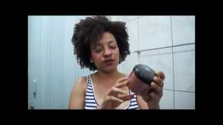 getlinkyoutube.com-Cabelo afro Pantene Defining Curls Styling Custard