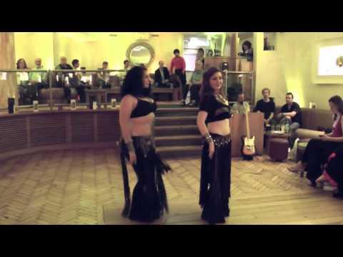 Tribal fusion belly dance choreography - Dublin - August 2011