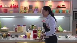 getlinkyoutube.com-Choumicha : Recette de Cheesecake aux fruits rouges | شميشة : حلوى بالجبن والفواكه الحمراء