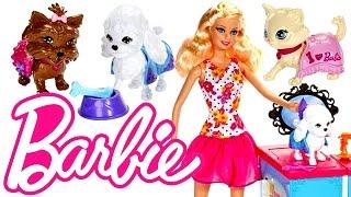 getlinkyoutube.com-Barbie Malibu Pet Butik Dükkanı - Barbie Oyuncak Tanıtımı