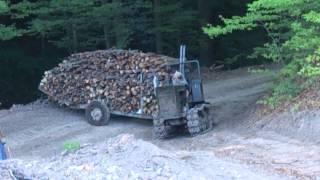getlinkyoutube.com-Bolgar T54 ťahanie dreva