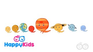 Planets, Space And Stars - Learning Songs Collection For Kids And Children With Lyrics
