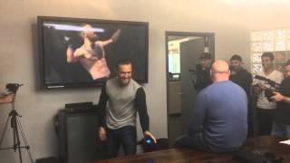 getlinkyoutube.com-Conor McGregor fights Dana White... virtually