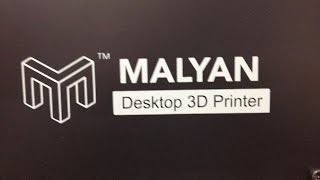 Malyan M180 Desktop 3D Printer Unboxing