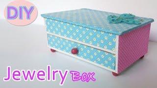 getlinkyoutube.com-DIY crafts: How to make a Jewelry box - Ana | DIY Crafts.