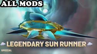 getlinkyoutube.com-Skylanders Superchargers - Legendary Sun Runner All Mods GAMEPLAY