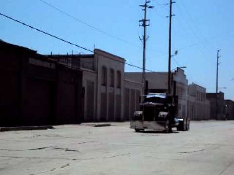 1961 kenworth rat rod loud jake brake driveby