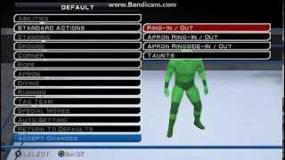 getlinkyoutube.com-WWE SVR 11 ROMAN REIGNS MOVESET FORMULA