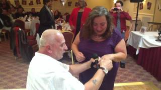 SURPRISE Proposal to 54 yr old woman from younger man!  See her reaction!