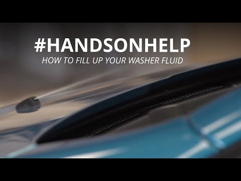 How To Fill Up Your Washer Fluid HandsOnHelp