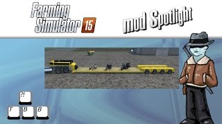 getlinkyoutube.com-Farming Simulator 15 Mod Spotlight - Doll Low Loader vs DerTebbers