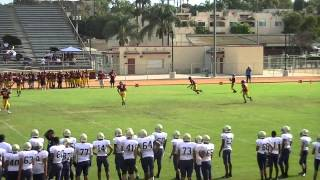 getlinkyoutube.com-St John Bosco 54 vs Wilson 0 - Freshman 09-10-2015