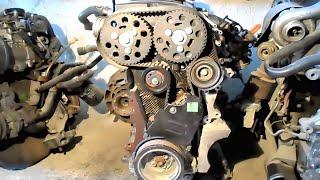 getlinkyoutube.com-mise au point moteur - vw golf5 Diesel - calage moteur - تغيير سير محرك جولف 5 مازوت
