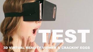 getlinkyoutube.com-DIN(G)SDAG TEST - 3D VIRTUAL REALITY VIEWER & CRACKIN' EGGS