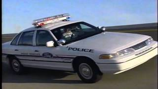 1993 Police Cars - Ford Taurus, Crown Vic and Mustang
