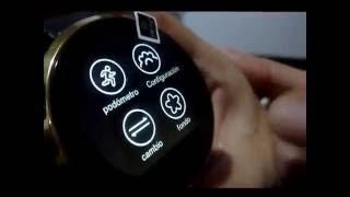 getlinkyoutube.com-Smart Watch DM-360-Resistente al agua