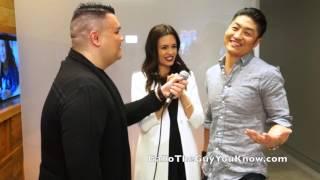getlinkyoutube.com-GalloTheGuyYouKnow: Torrey DeVitto & Brian Tee Interview (Season 3)