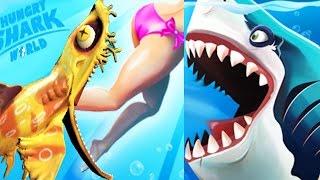 Hungry Heidi Shark (WOBBEGONG) #3  | Hungry Shark World Gameplay!