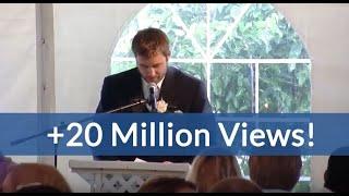 getlinkyoutube.com-Best Brother Wedding Speech Kills Crowd (hilarious ending!)