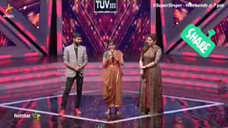 Senthil Ganesh Performing With Sivakarthikeyan In Super Singer 6