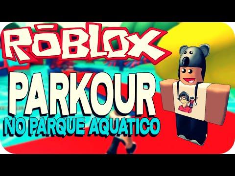 Roblox - Parkour no parque aquático