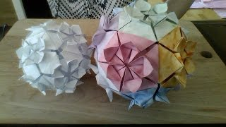 getlinkyoutube.com-flower ball origami 12 pieces
