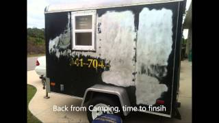 getlinkyoutube.com-5x8 Cargo Camper Conversion