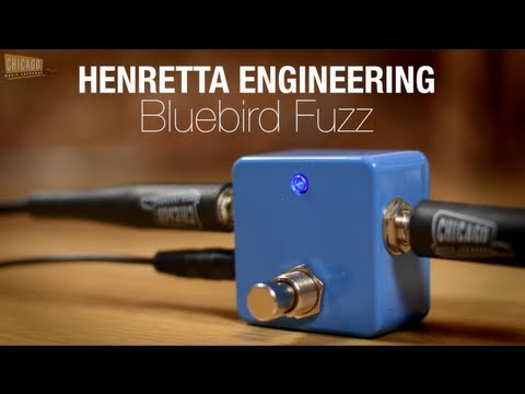 Henretta Engineering Bluebird Fuzz (Guitar & Bass Demo)